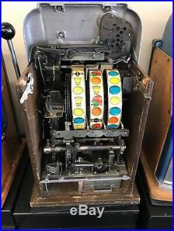 $0.05 Mills Arrow Head Vintage Slot Machine, Free Shipping Conus