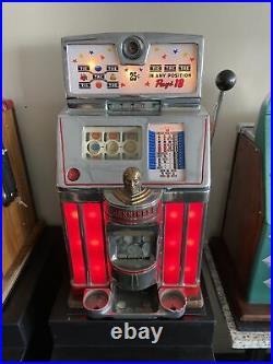 0.25 Antique Jennings slot machine Tic Tac Toe