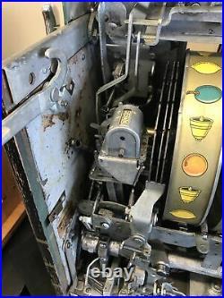 $0.25 Mills Melon HiTop Vintage Slot Machine, Recently Serviced