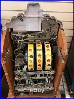 $. 05 Mills Vintage Extraordinaire Slot Machine Free Shipping