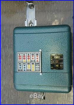 1 cent antique vest pocket slot machine. Slightly used, incredable condition