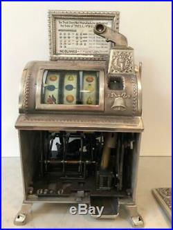 1906/1907 MILLS NOVELTY cast iron restored OPERATOR BELL SLOT MACHINE
