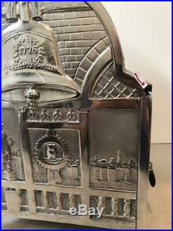 1906/1907 MILLS NOVELTY cast iron restored OPERATOR BELL SLOT MACHINE