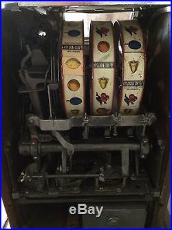 1920 1930 1935 Working 25Cent miller slot machine Vintage Las Vegas Memorabilia