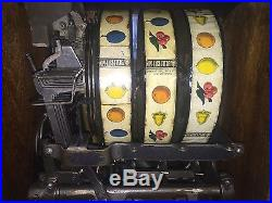 1920 MILLS 5 Cent OPERATORS BELL Slot Machine Fully Restored & Ready To Play