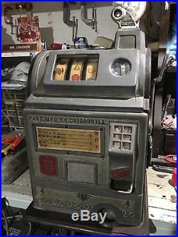 1922 Jennings/Pace gooseneck jackpot nickel slot machine