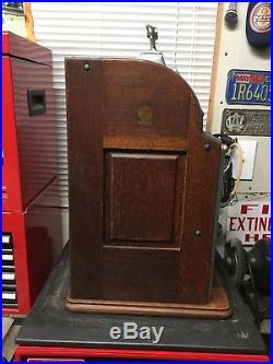 1922 Jennings/Rockola jackpot nickel slot machine