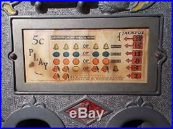 1925 Antique Jennings Slot Machine Coin Operated Antique Casino