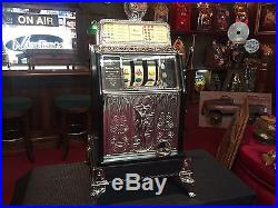 1925 CAILLE Superior Operators Bell Slot Machine WATCH VIDEO