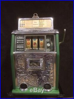 1928 Caille Superior 25 Cent Slot Machine Watch Video