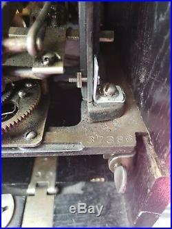 1928 Superior Caille Company Vintage Nickel Slot Machine