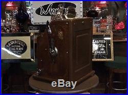 1929 MILLS 5 Cent BASEBALL Slot Machine Fully Restored Watch Video