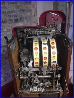 1930's Buckley Criss Cross 50 Cent Slot Machine
