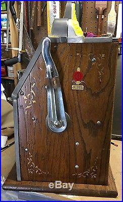 1930's MILLS 5c WAR EAGLE SLOT MACHINE