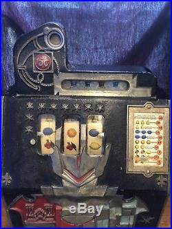 1930's Mills Castle Front Nickle Slot Machine