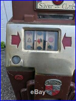 1930s 5 Cent Slot Machine Jennings Coin Drop Bell Fruit Gum Trade simulator