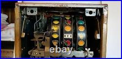 1930s Antique Mills 10 Cent Owl Slot Machine Vintage Working