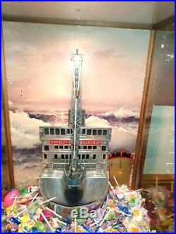 1930s Exhibit Supply 5c Slot Carnival Arcade Antique Crane Machine
