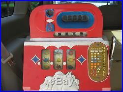 1930s Mills Bonus Horse Head Antique Slot Machine- Good Working Condition