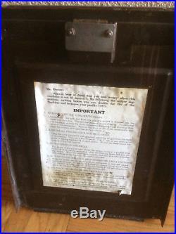 1931 10 Cent Mills Lion Head Slot Machine Watch Video