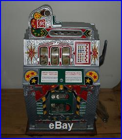 1931 5 ¢ Mills Silent Escalator Jackpot Front Vendor Bell Slot Machine