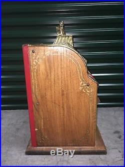 1931 Mills Golden Poinsettia Bell Slot Machine Rare