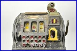 1931 Mills Lion Head Slot Machine 10 Cent Gooseneck
