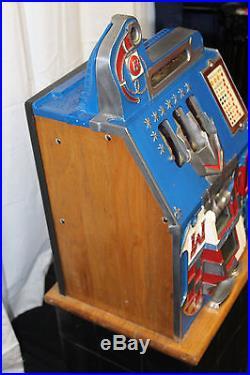 mills castle front slot machine for sale