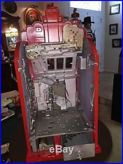 1937 MILLS 10 Cent Dime Extraordinary Art Deco Slot Machine Watch Video