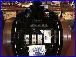 1937 MILLS Extraordinary Club Console Slot Machine Fully Restored Watch Video
