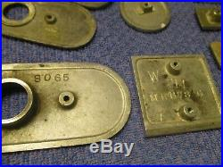 1940's/50's Mills Slot Machine Parts, All Original. Solid Shape, Free Shipping