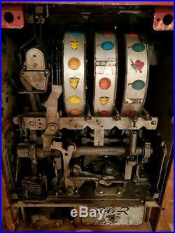 1940's Mills 25 Cent Slot Machine