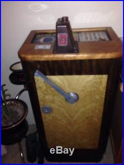 1941 Jennings Silver Moon console slot machine Price reduced