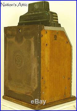 1941 O. D. Jennings Bronze Chief Nickel Antique Slot Machine Original & Tuned