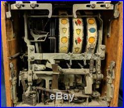 1946 Jennings Standard Chief 5 Cent Slot Machine