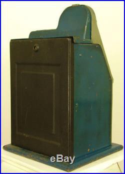 1946 MILLS NOVELTY BLACK CHERRY ANTIQUE SLOT MACHINE 5c TUNED & READY TO ENJOY