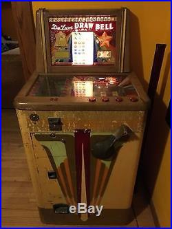 1947 Bally Deluxe Draw Bell Machine