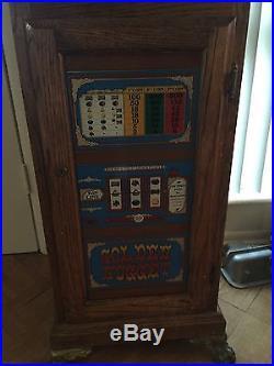 1947 Mills 25 cent Golden Nugget Slot Machine