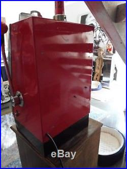 1950's Mills Nickel Slot Machine With Lit Interior Sold As Is Semi Working