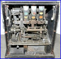 1950's SEGA DIAMOND 3 STAR 5 CENT COIN OPERATED MECHANICAL SLOT MACHINE