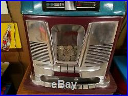 1956 Black Beauty High Top by Mills Novelty Slot Machine 100% Working