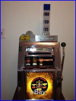 1960 Mills Sahara Hotel Las Vegas $1 slot machine mancave