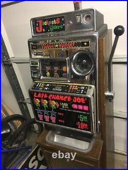 1960s Retired Slot Machine