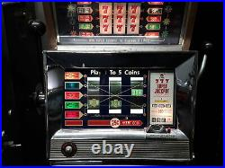 1968 Vintage Bally 25 Cent Slot-FREE SHIPPING