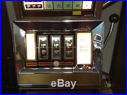 1972 Vintage E945 5 Cent Slot Machine by Bally-FREE SHIPPING