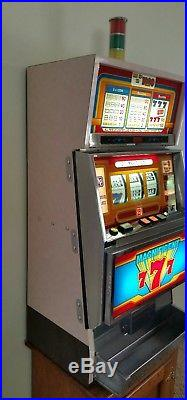 1986 Magnificent 7s Universal Slot Machine from Imperial Palace Casino Las Vegas