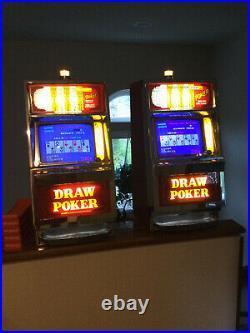 2 Antique Igt Fortune 1 Draw Video Poker Machines