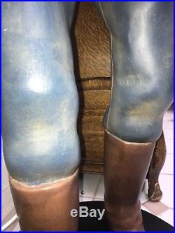 25 CENT SLOT MACHINE MILLS OLD HAND CARVED FIGURE GOLD MINER DeLong POLK SANCHEZ