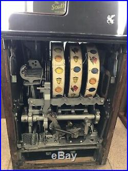 25 Cent Buckley Vintage Slot machine. Free shipping