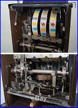 25 Cent Mills War Eagle Slot Machine